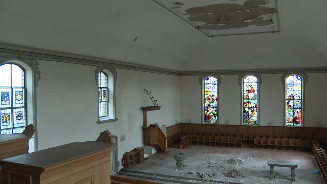 Brand an Weihnachten: So sieht es in der Kirche von Herzogenbuchsee aus