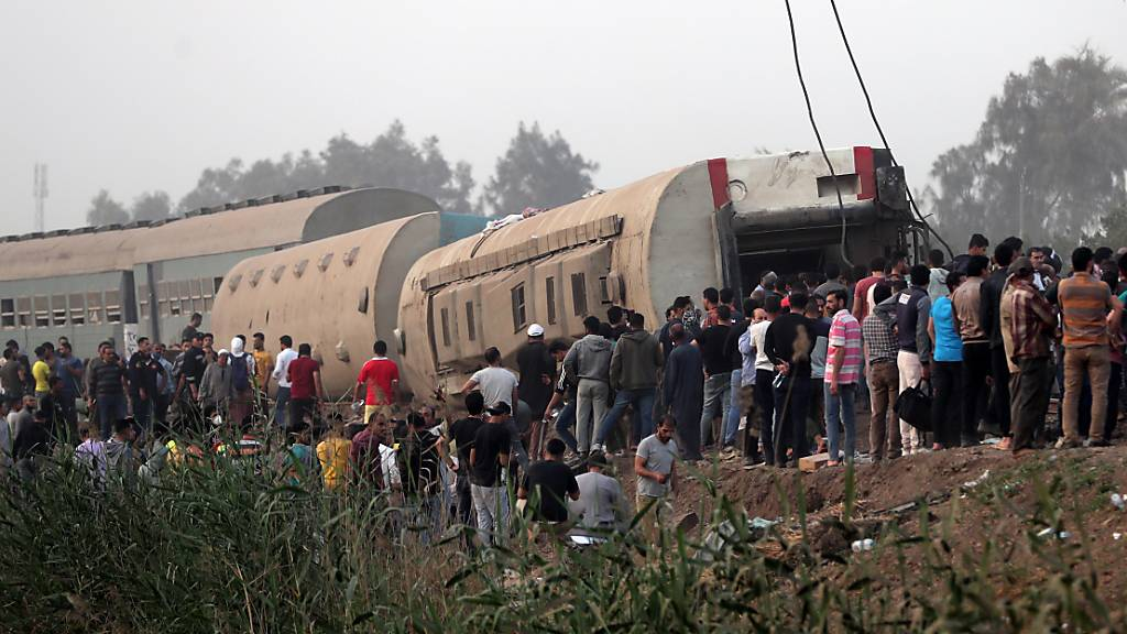 Zahl der Toten nach Zugunglück in Ägypten auf 23 gestiegen