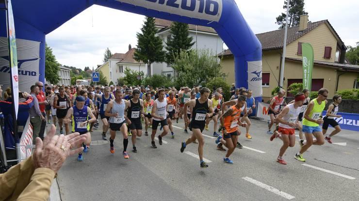 Der Grenchenberglauf wurde zum 18. Mal durchgeführt.