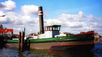Unikat: Das Dampfschiff ist das einzig verbleibende seiner Art – und bald auf dem Rhein unterwegs. (Bild: ZVG)