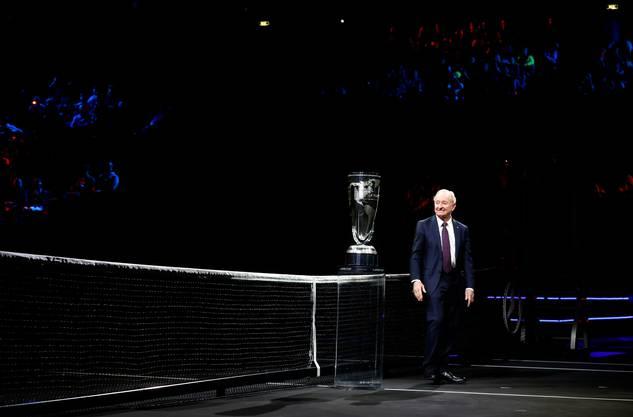 Rod Laver ist mehr als nur der Namensgeber des Laver Cups (Bild: Keystone).