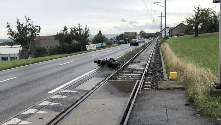 Verkehrsunfall in Seon.
