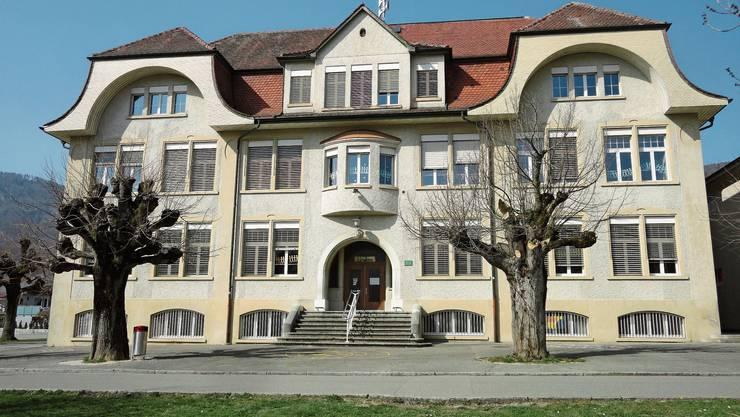 Das 110-jährige Schulhaus Linden wird saniert.