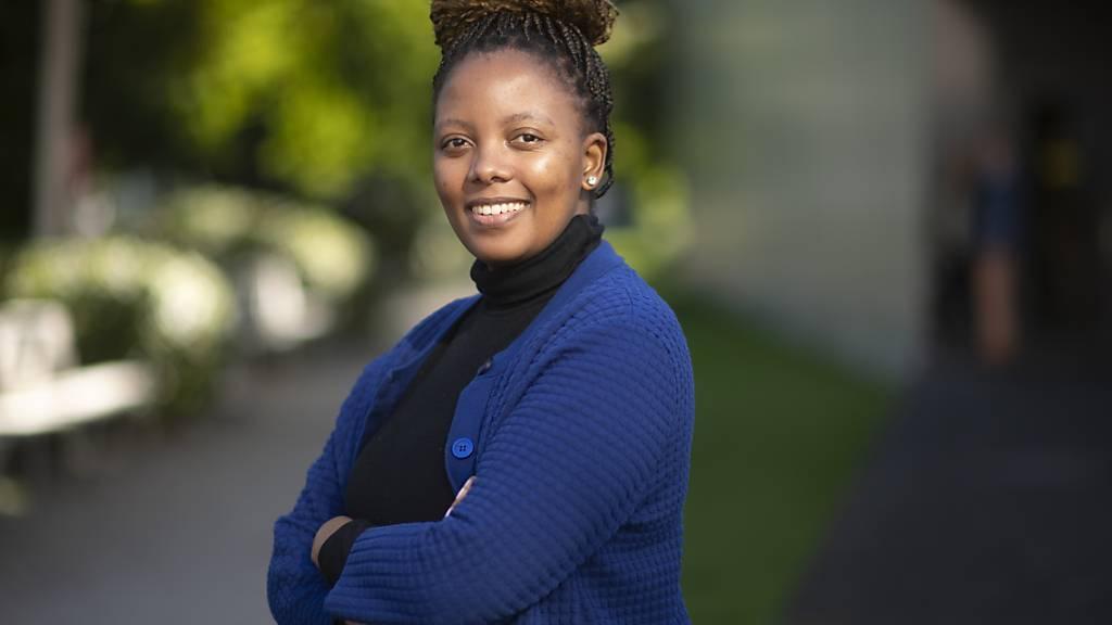 Die südafrikanische Sopranistin Vuvu Mpofu singt in der Oper «Breaking the Waves» die Rolle der Bess. Das Stück feiert am 18. September Premiere am Theater St. Gallen.