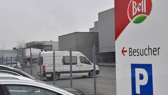 Tierschützer besetzten Bell-Schlachthof in Oensingen