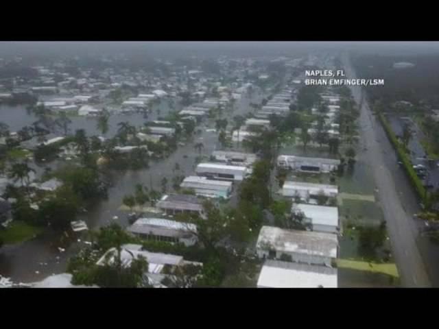 Dieses Drohnenvideo zeigt die Zerstörung in Naples, Florida