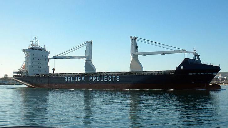 Mehrzweck-Schwergutfrachter von Beluga Shipping.