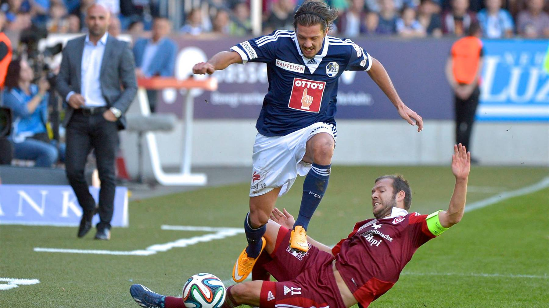 FC Luzern und FC Vaduz trennen sich 0:0