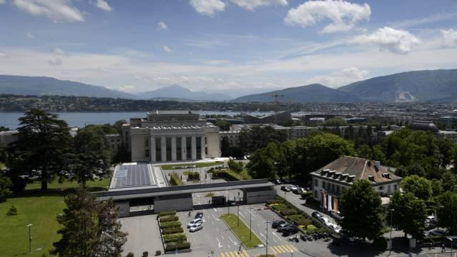 Klima-Verhandlungen gehen weiter: Palais des Nations der UNO