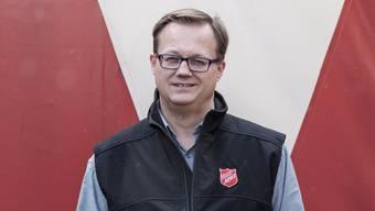 Bjørn Marti ist Korpsleiter der Heilsarmee Aargau Süd in Reinach.
