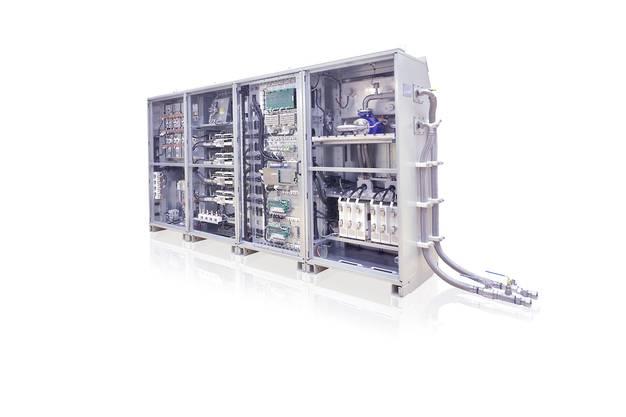 Ein moderner Stromrichter der ABB.