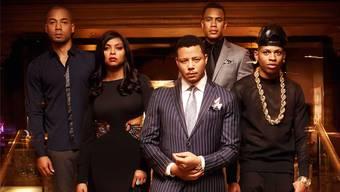 Musik-Mogul Lucious Lyon (Terrence Howard, Mitte) und seine Familie: Seit «Grey's Anatomy» (2005) startete keine TV-Serie erfolgreicher als der «Empire»-Clan.  FOX