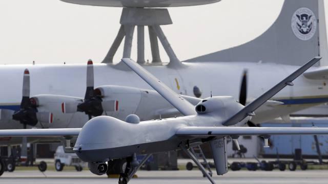 Amerikanische Drohne in Pakistan