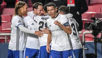 Der FC Basel jubelt in der Champions-League-Gruppenphase gleich viermal.