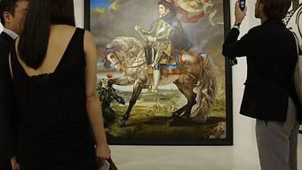"""""""Reiterportät von Philipp II"""" von Kehinde Wiley"""