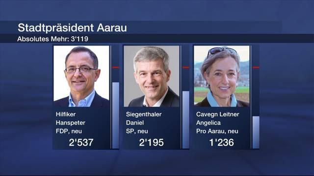 Stadtpräsidentenwahl in Aarau