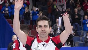 Schon früh in der Saison warten Skip Peter De Cruz und seine Genfer Curler mit tadellosen Leistungen auf