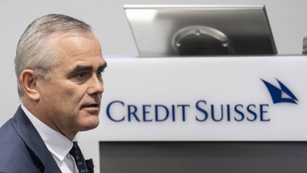 Credit-Suisse-Chef Thomas Gottstein hat nach den riesigen Abschreibungen wegen des Hedgefonds Archegos und den Greensill-Fonds alle Hände voll zu tun, dass die Kundschaft seiner Bank weiter vertraut und das Finanzinstitut wieder zum Erfolg findet. (Archivbild)