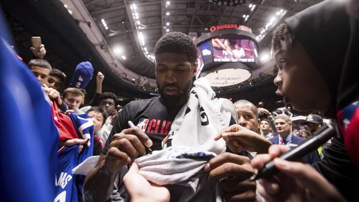 NBA-Beben nach Wechsel: Die Los Angeles Clippers angelten sich All-Star Paul George.