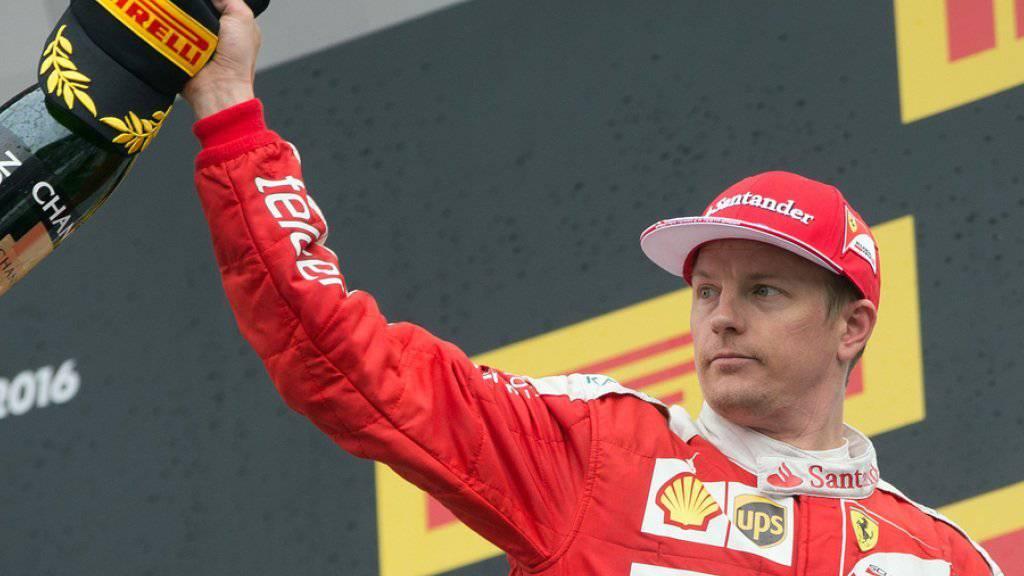 Kimi Räikkönen heiratet Freundin Minttu