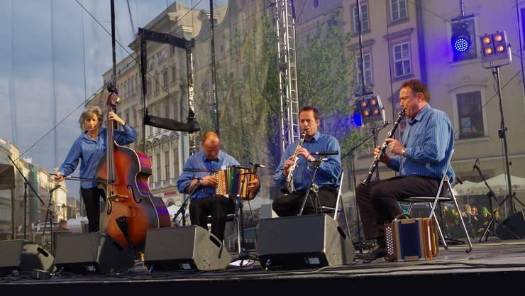 Ohalätz auf dem Marktplatz in Krakau