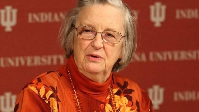 Elinor Ostrom erhielt 2009 als erste und bisher einzige Frau den Nobelpreis für Wirtschaftswissenschaften (Archiv)