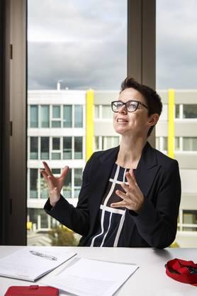 Die Grenchner Wirtschaftsförderin Karin Heimann
