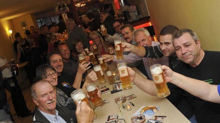 Alte Tradition, neuer Ort: Neu treffen sich die Zwickel-Freunde im Z33 am Zeughausplatz. (Bild: Martin Töngi)