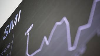 Nach dem Crash vom Vortag haben die Kurse an der Schweizer Börse wieder auf Erholungskurs eingeschwenkt. (Archivbild)