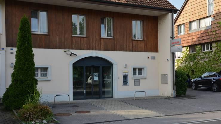 Der Bancomat an der Hauptgasse 13