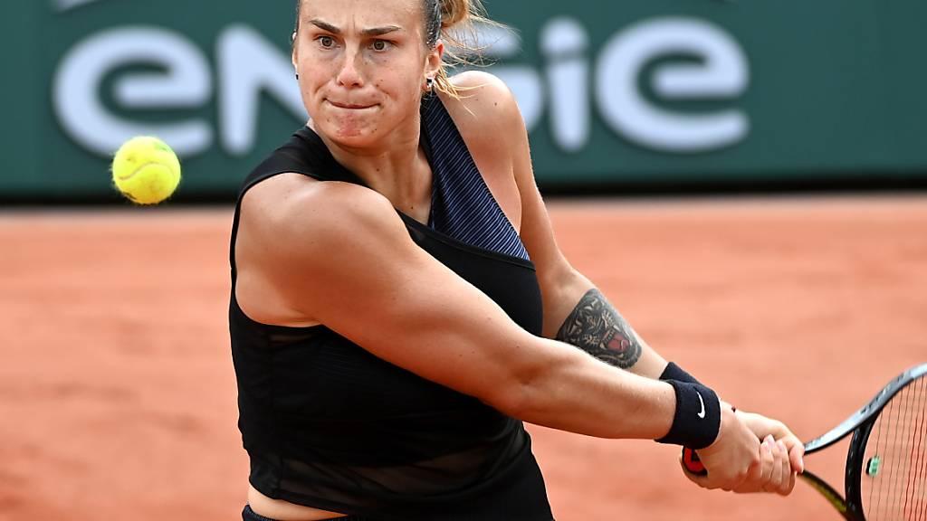 Viel Power, zu wenig Präzision: Aryna Sabalenka scheiterte am French Open in der 3. Runde
