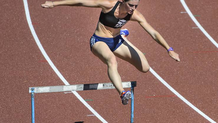 Lea Sprunger packte ihre Chance am Schopf und zog in den Halbfinal ein