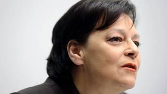 Finanzdirektorin Ursula Gut muss noch mehr sparen - sie will es auch tun.