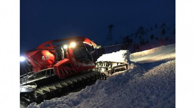 Die Windenseile der Ratrak sind kaum sichtbar. Sie sind eine tödliche Gefahr für Skitourenfahrer. Foto: RIK