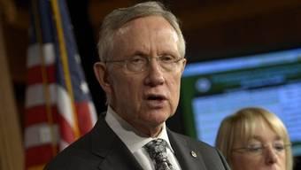 Harry Reid, demokratischer Mehrheitsführer im US-Senat (Archiv)