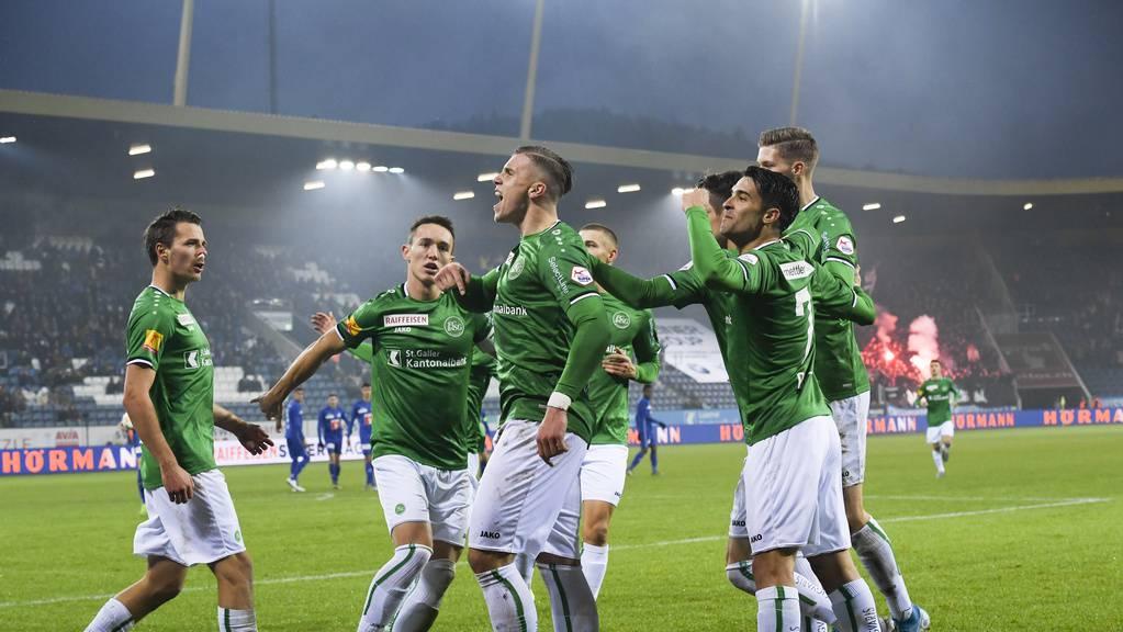 Der FC St.Gallen könnte schon bald auf mehr Gegner in der Liga treffen.