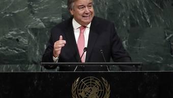 UNO-Generalsekretär Guterres hat sämtliche Mitgliedstaaten der Vereinten Nationen aufgefordert, die Todesstrafe abzuschaffen. (Archiv)