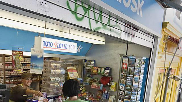 Kioskfrau in Bern überfallen (Archiv)