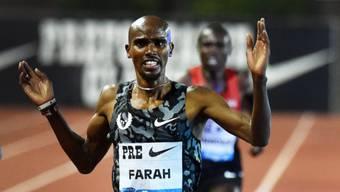 Lief die schnellste Zeit des Jahres über 10'000 Meter: Mo Farah