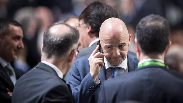 Will Fifa-Präsident Gianni Infantino wirklich mehr Transparenz.