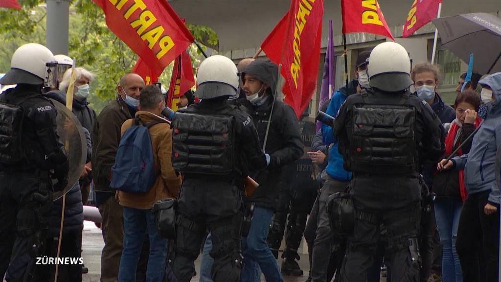 1. Mai während Corona: 12 Verhaftungen und Sachschaden in Zürich