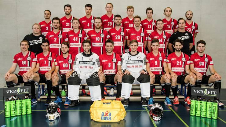 Das Unihockey Basel Regio Männer Team