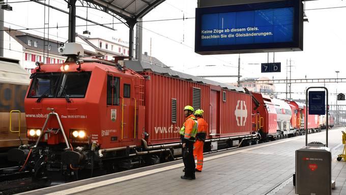 Personenunfall am Bahnhof Olten