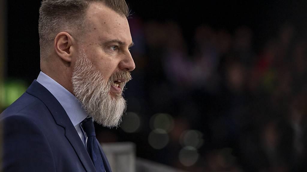 ZSC Lions verlängern mit Trainer Grönborg bis 2023