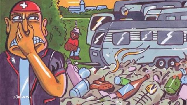 Strafanzeige für Junge SVP wegen «Zigeuner»-Plakat