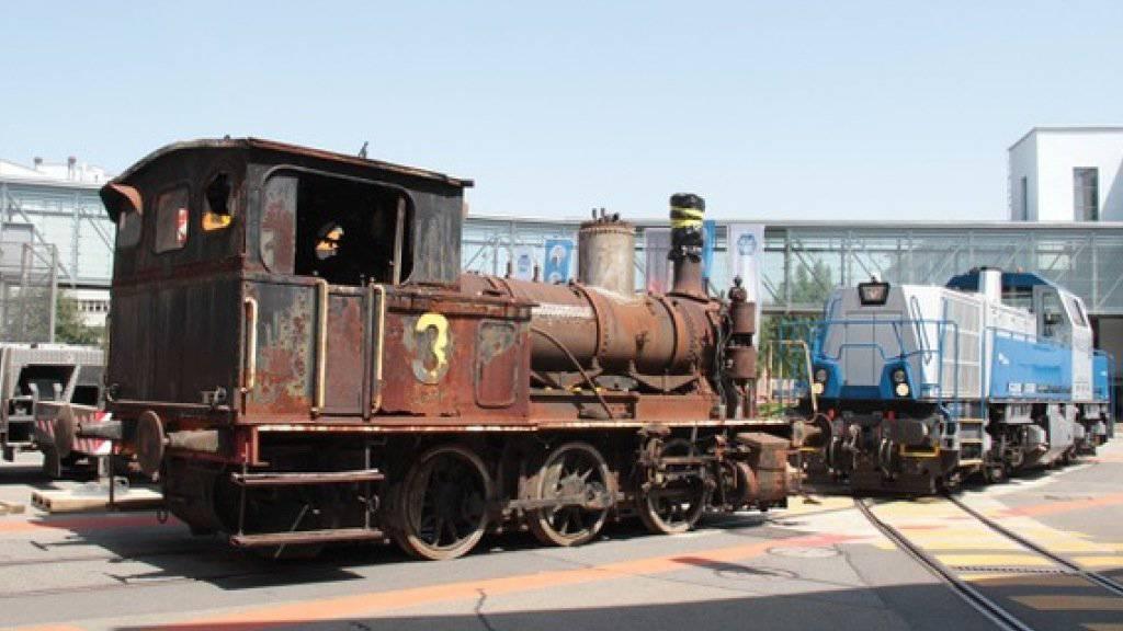 Relikt aus der Eisenbahnpionierzeit der Schweiz: In zwei Jahren soll die renovierte Dampflok SCB 41 wieder für Publikumsfahrten in Basel, Bern, Luzern und Solothurn unterwegs sein.