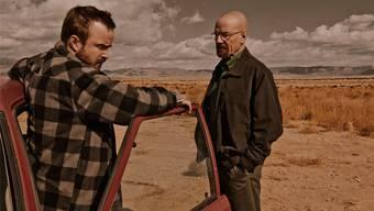 «Breaking Bad»: Die angesagte US-Serie ist eine von 45 Produktionen, die von Beginn an auf Teleboy-Serien zur Verfügung stehen.HO