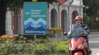 Am 23. Oktober waren 410000 Aargauerinnen und Aargauer wahlberechtigt. 275000 liessen es sein. Archiv/Walter Schwager