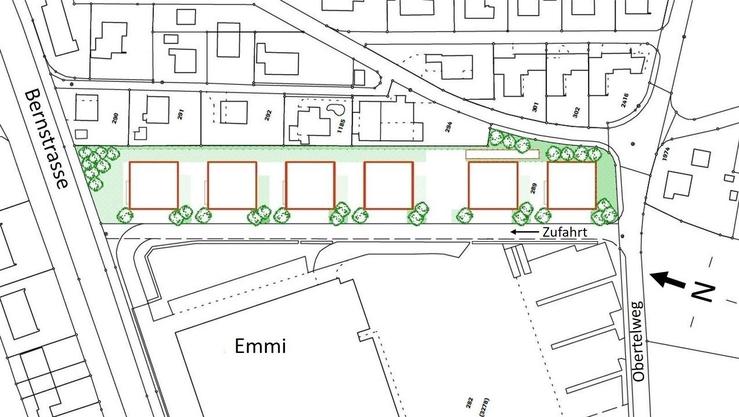 So könnte der Gewerbepark im Helgenfeld gemäss dem Abstimmungsbüchlein aussehen.