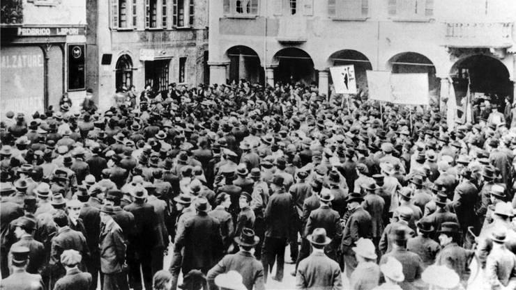 Im November 1918 riefen die Gewerkschaften zum Generalstreik auf, der die Schweiz veränderte.